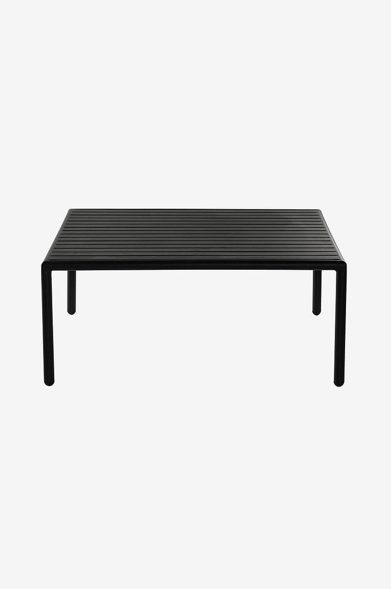 MENTON matbord 90x200 cm Svart Utemöbler Jotex