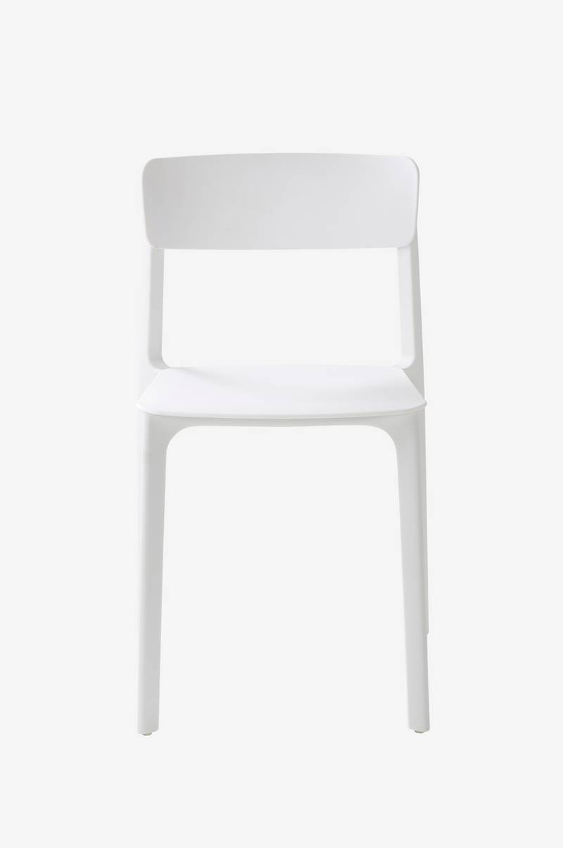Jotex BRANTEVIK stol 2 pack Vit Möbler Homeroom.se