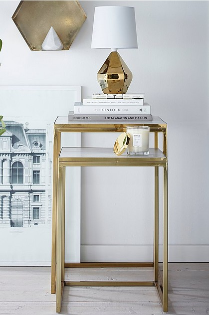 Satsbord Gold by Ellos Home