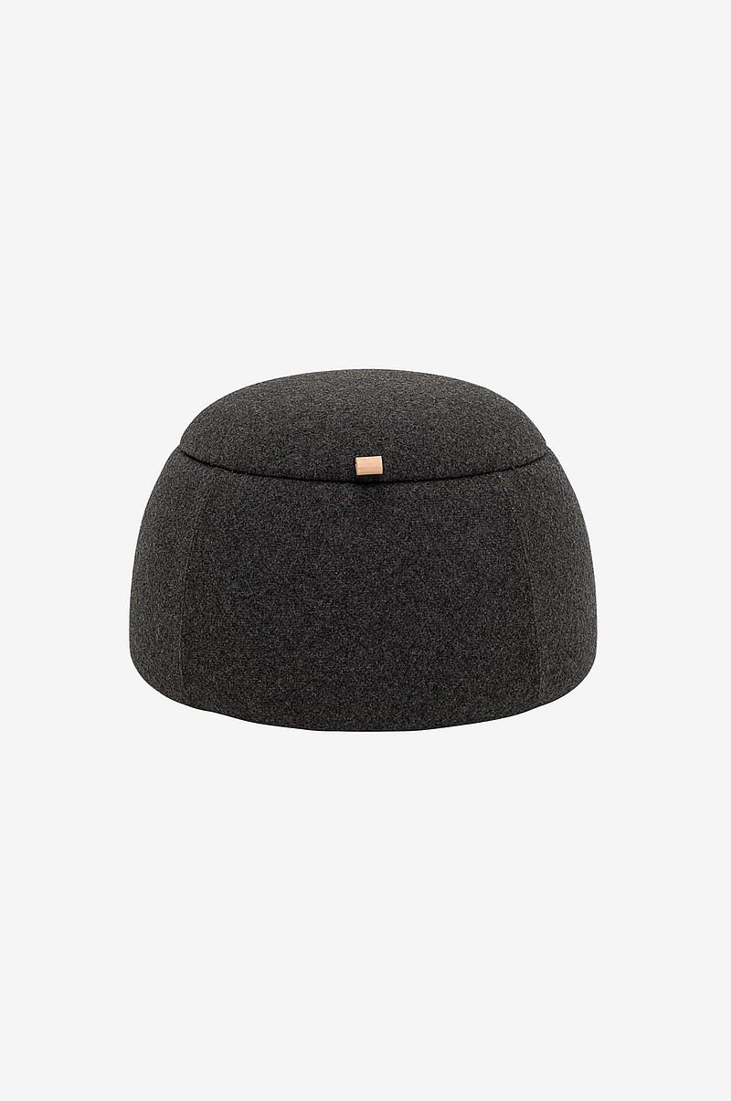 bloomingville sittpuff rock gr hem inredning. Black Bedroom Furniture Sets. Home Design Ideas