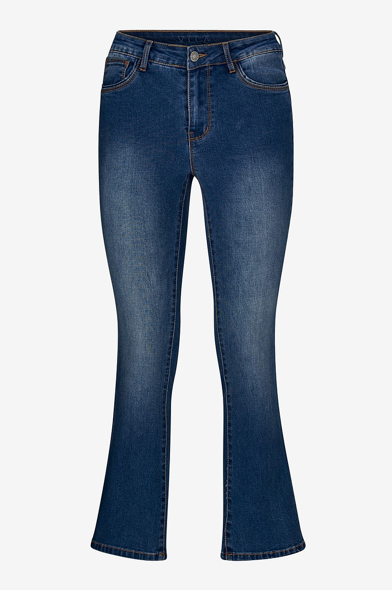Jeans ViBarcher RW 5P Microflared Jeans