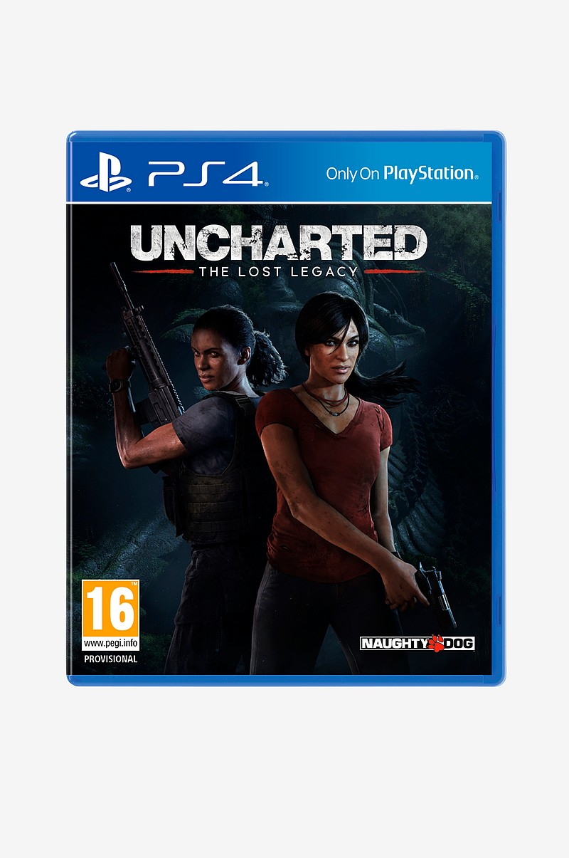 Uncharted the lost legacy spil PS4
