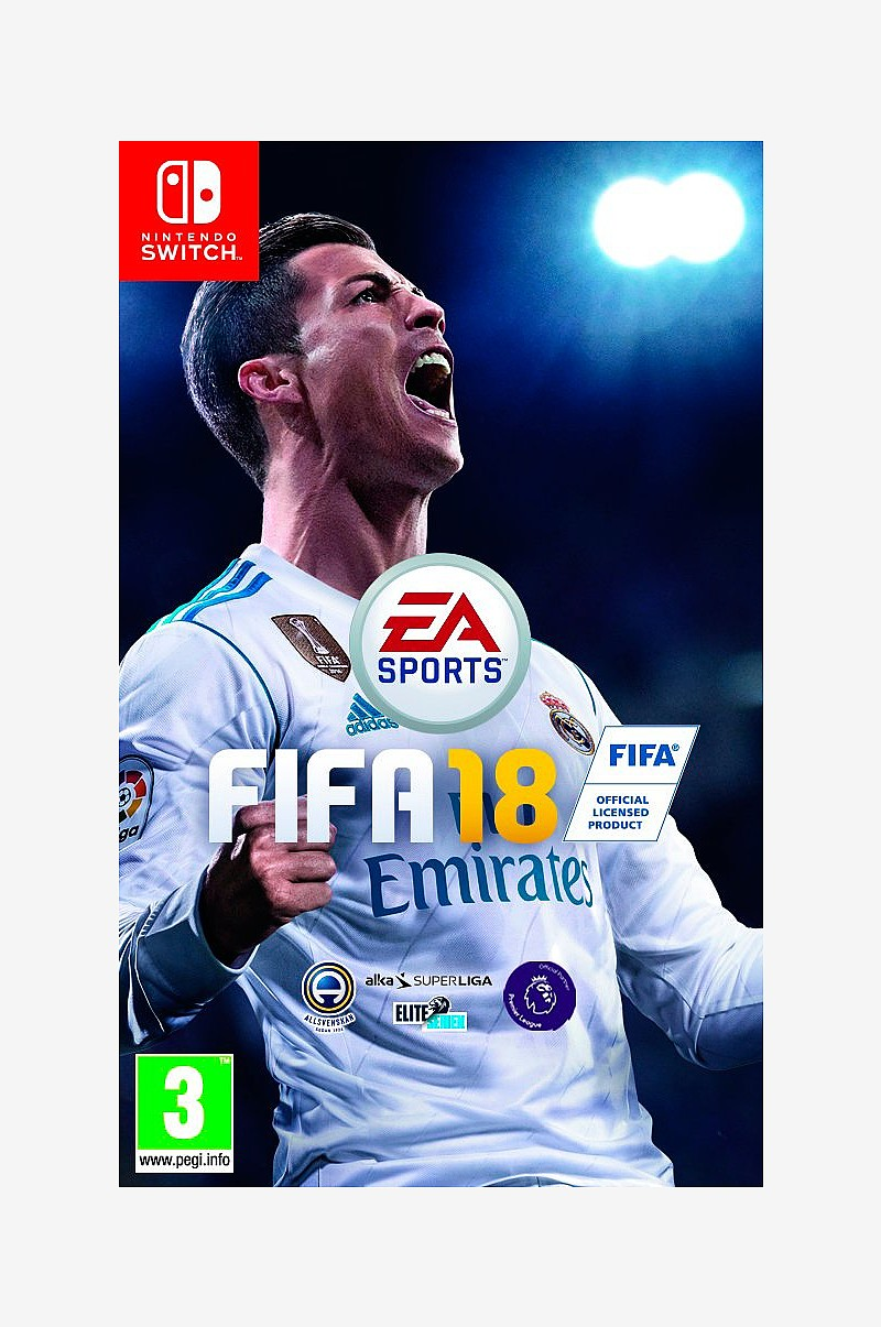 Fifa 18 Spill Nintendo Switch