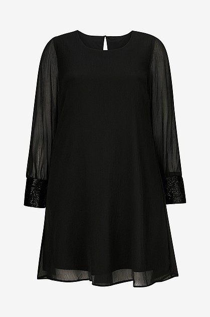 Kjole jrLunas LS Above Knee Dress