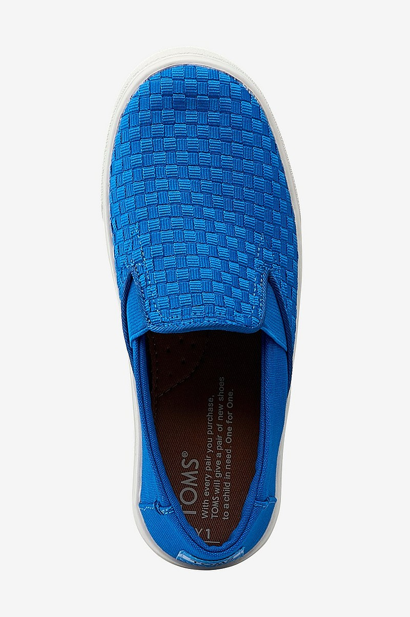 Sneakers Luca Imperial Blue Basketweave