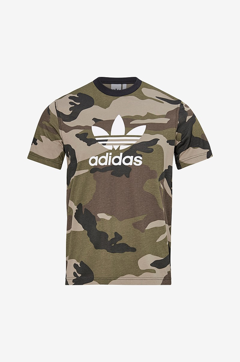 T-shirt Camouflage Trefoil Tee