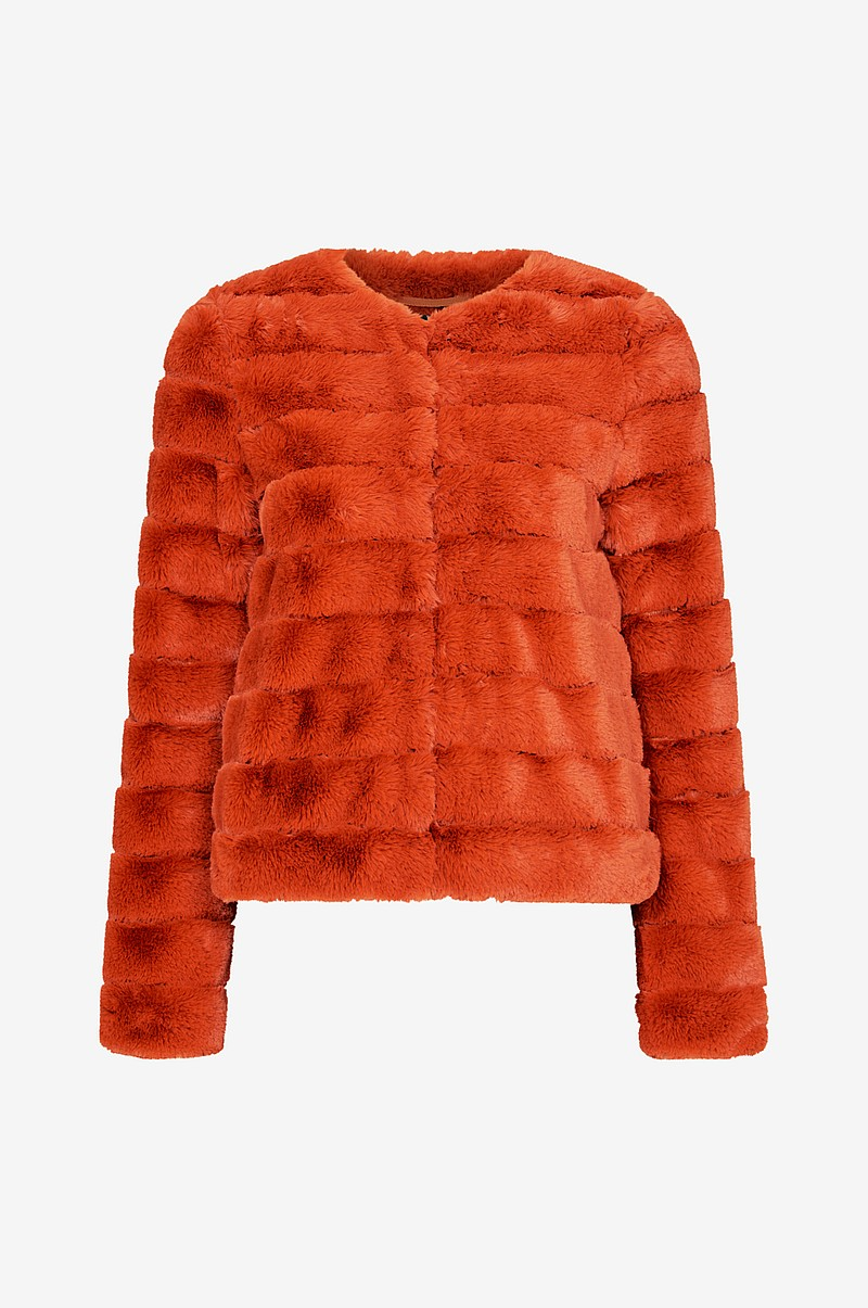 VmAvenue Faux Fur Jacket tekoturkistakki