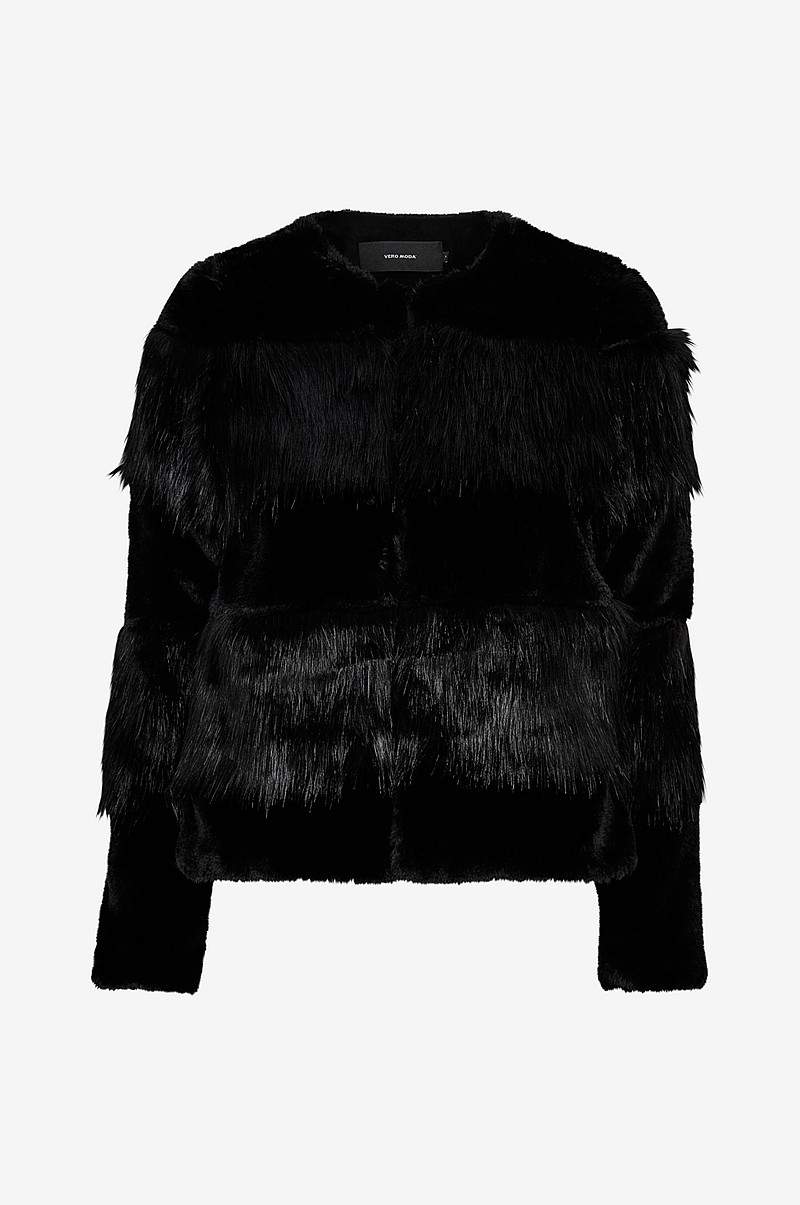 Fuskpäls vmJazz Short Faux Fur Jacket