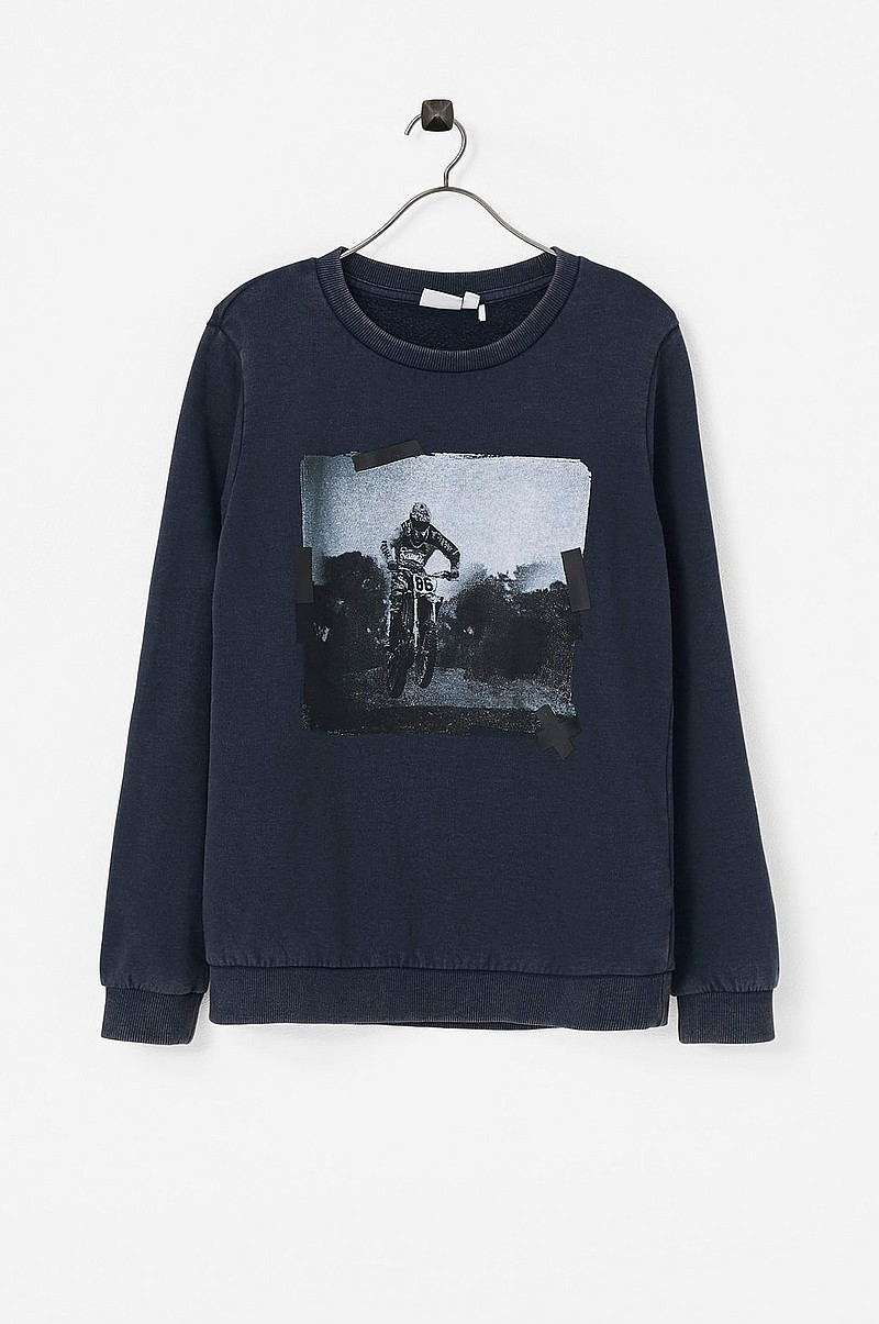 Sweatshirt nkmtOliver LS Sweat Bru Box