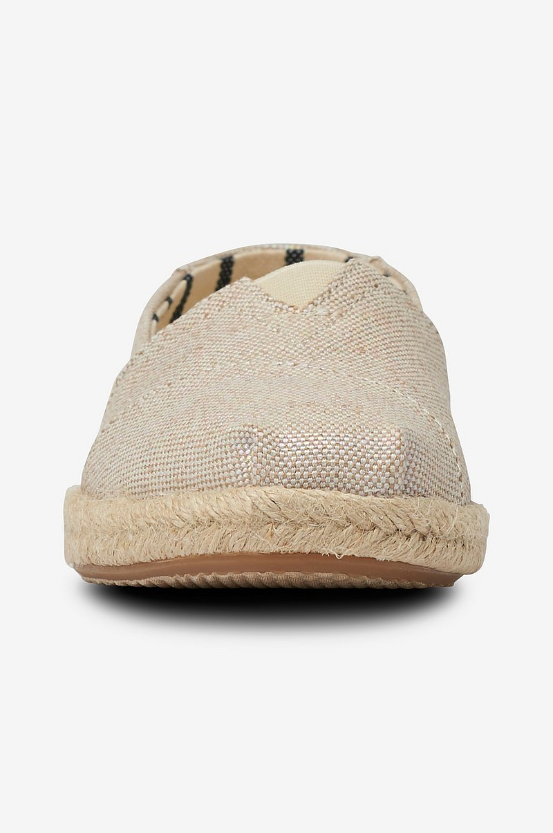 Espadrillos Classic Natural Pearlized Metallic