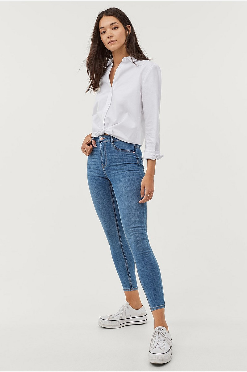 gina tricot molly petite jeans
