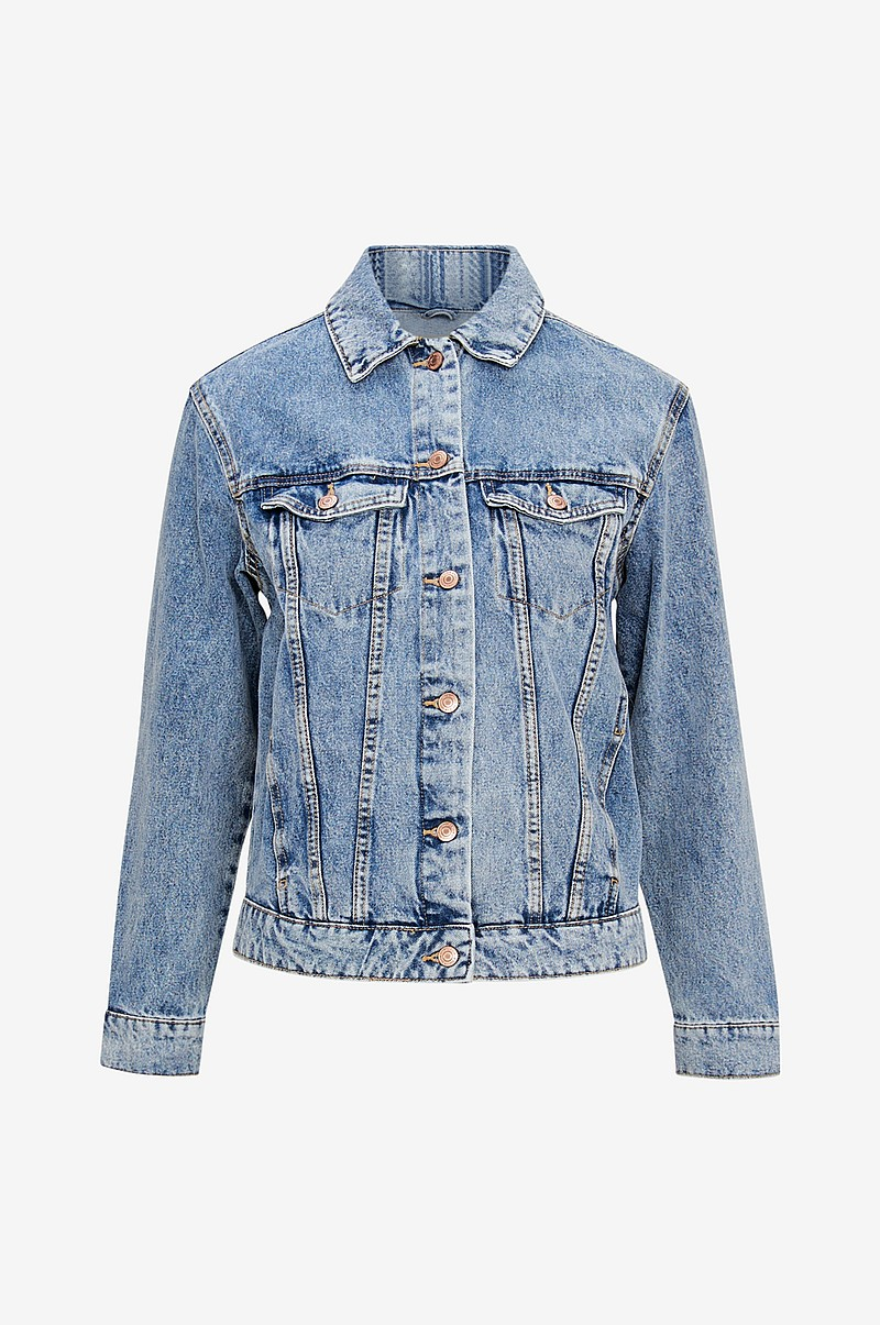 Jeansjacka vmKatrina LS Denim Loose Jacket