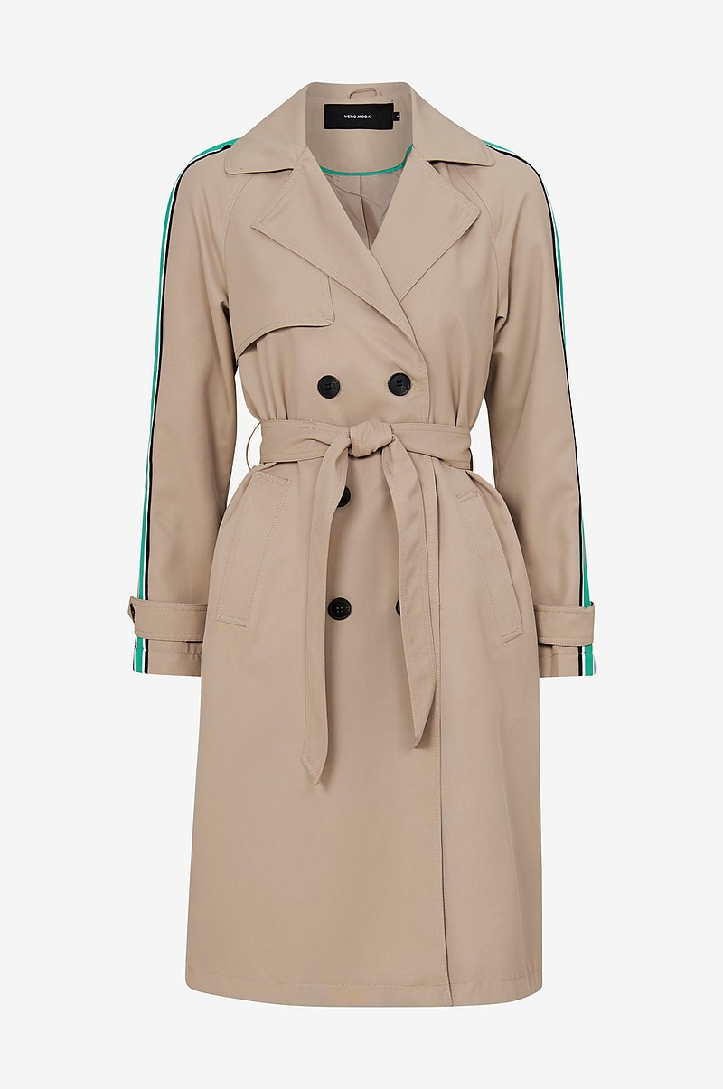 VmSpice Long Trench Coat trenssi