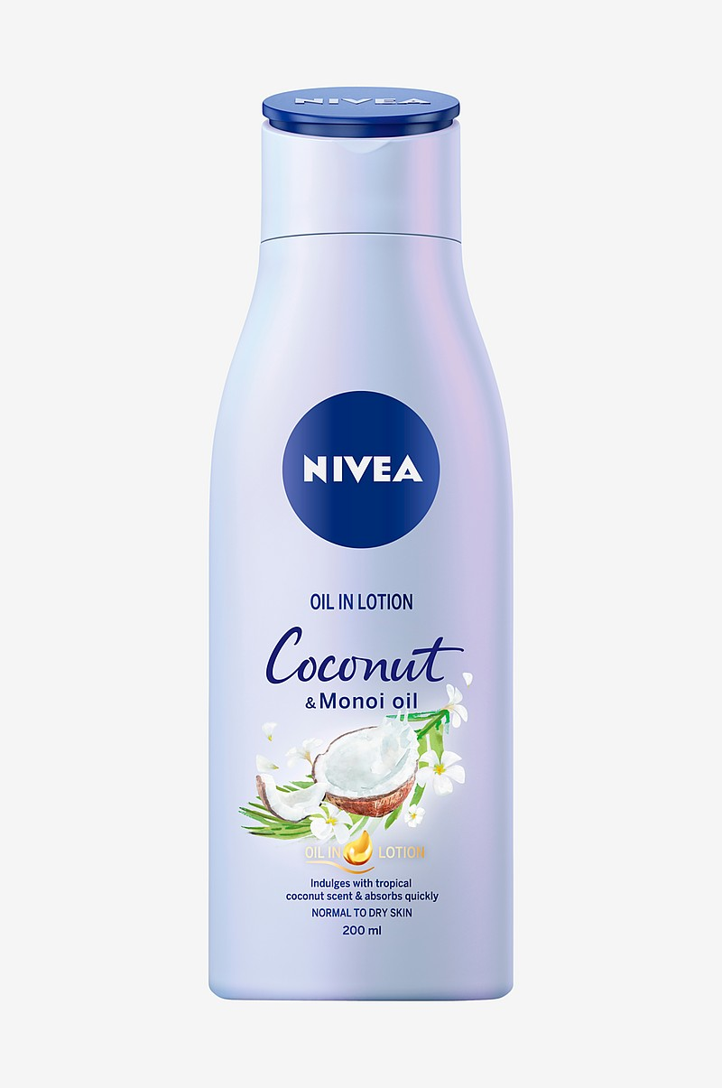 Nivea Body Oil in Lotion Coconut 200ml