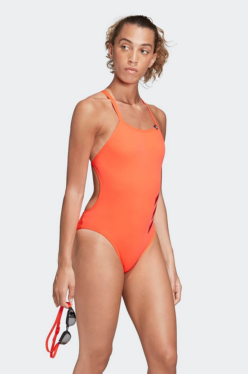 Baddräkt Pro Big 3-stripes Swimsuit
