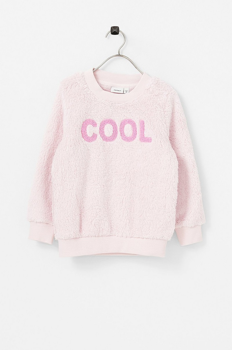 Sweatshirt nmfOlga LS Teddy Sweat