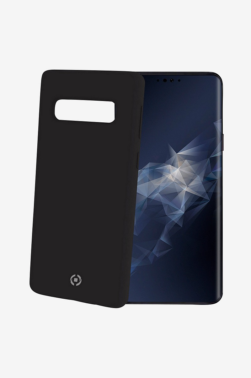 Soft-touch cover Galaxy S10 Svart