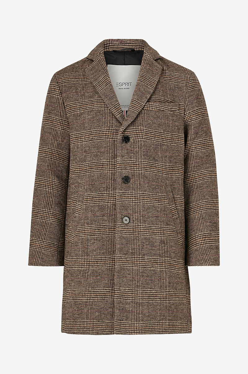Rock Check Coat