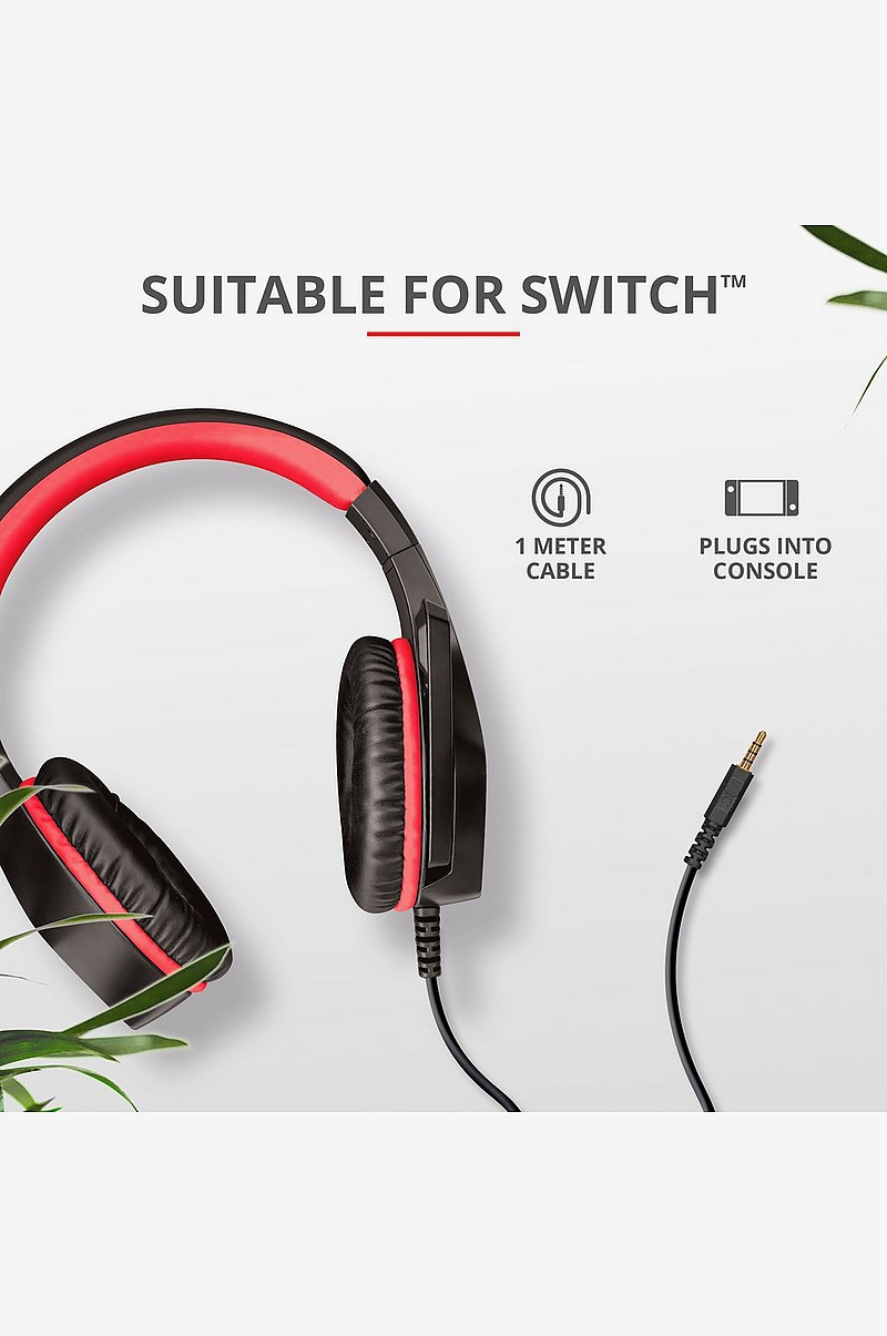 GXT 404R Gaming Headset Switch
