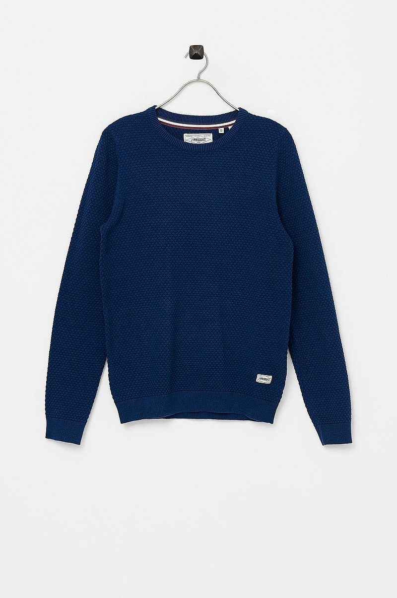 Neulepusero pktHnn Brick Crew Neck Knit Junior