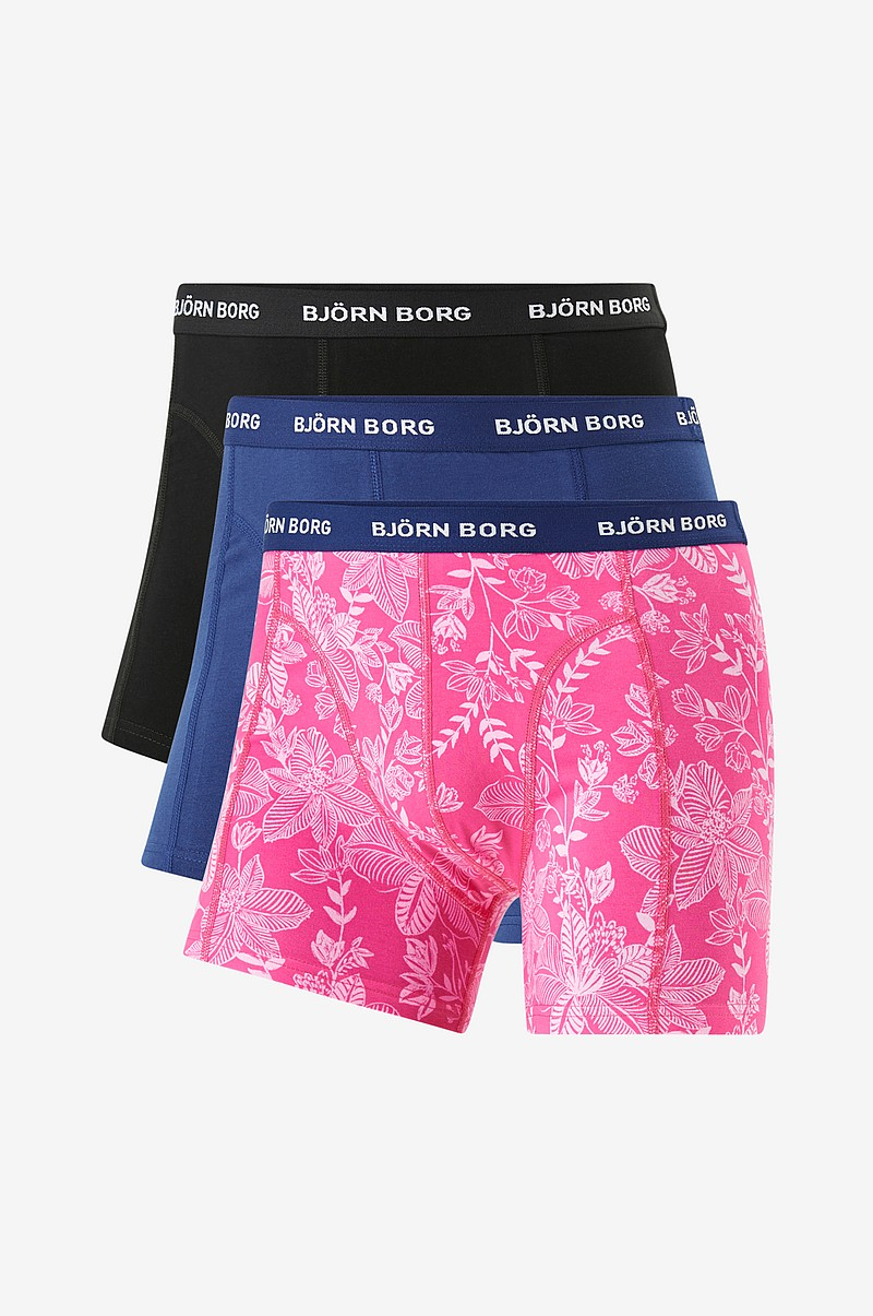 Boxershorts Sammy BB Fiji Flower 3-pack