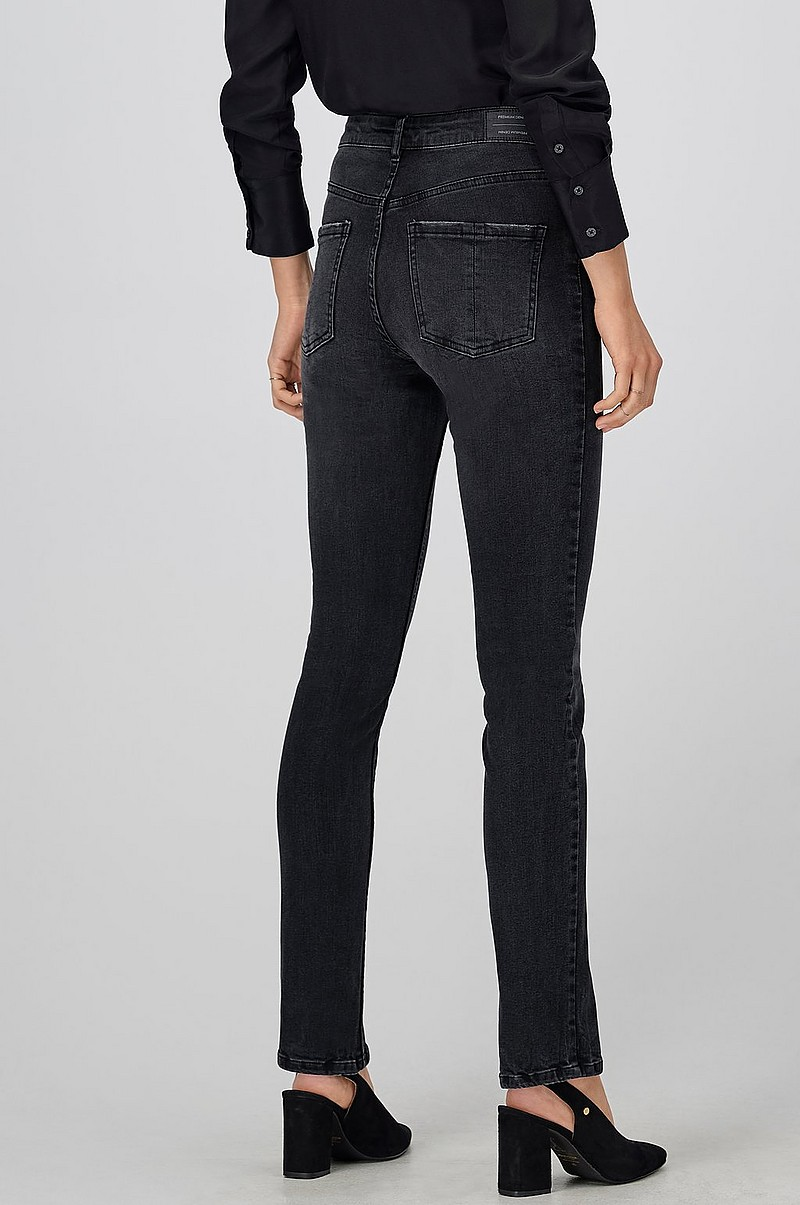 Jeans Thea High Waist Slit