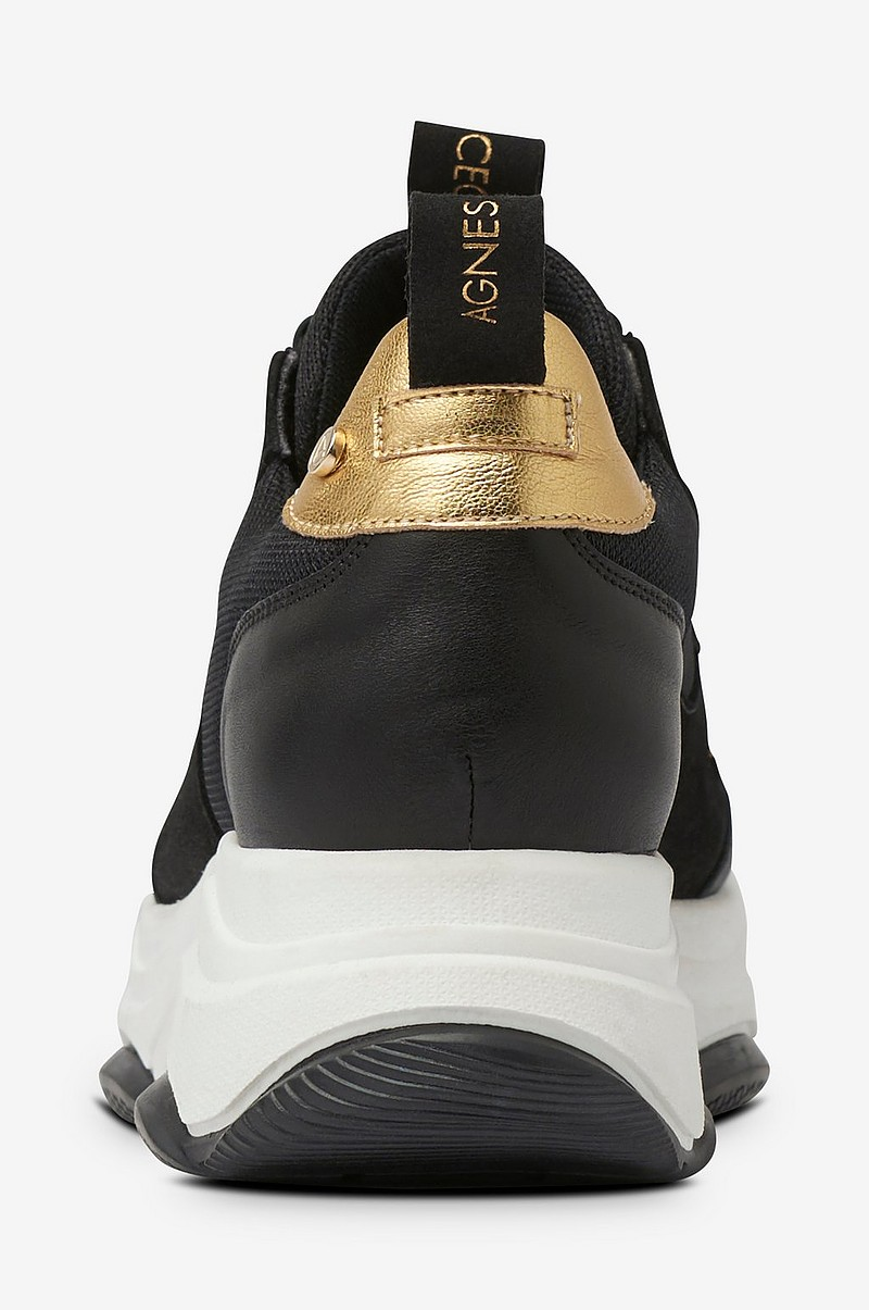 Sneakers Thick Outsole Leather