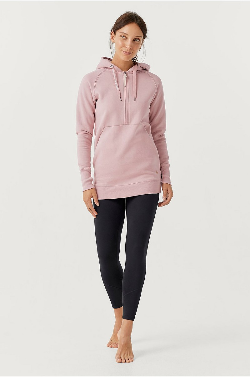 Huppari Yoga Hoodie Long BR Fleece HZ
