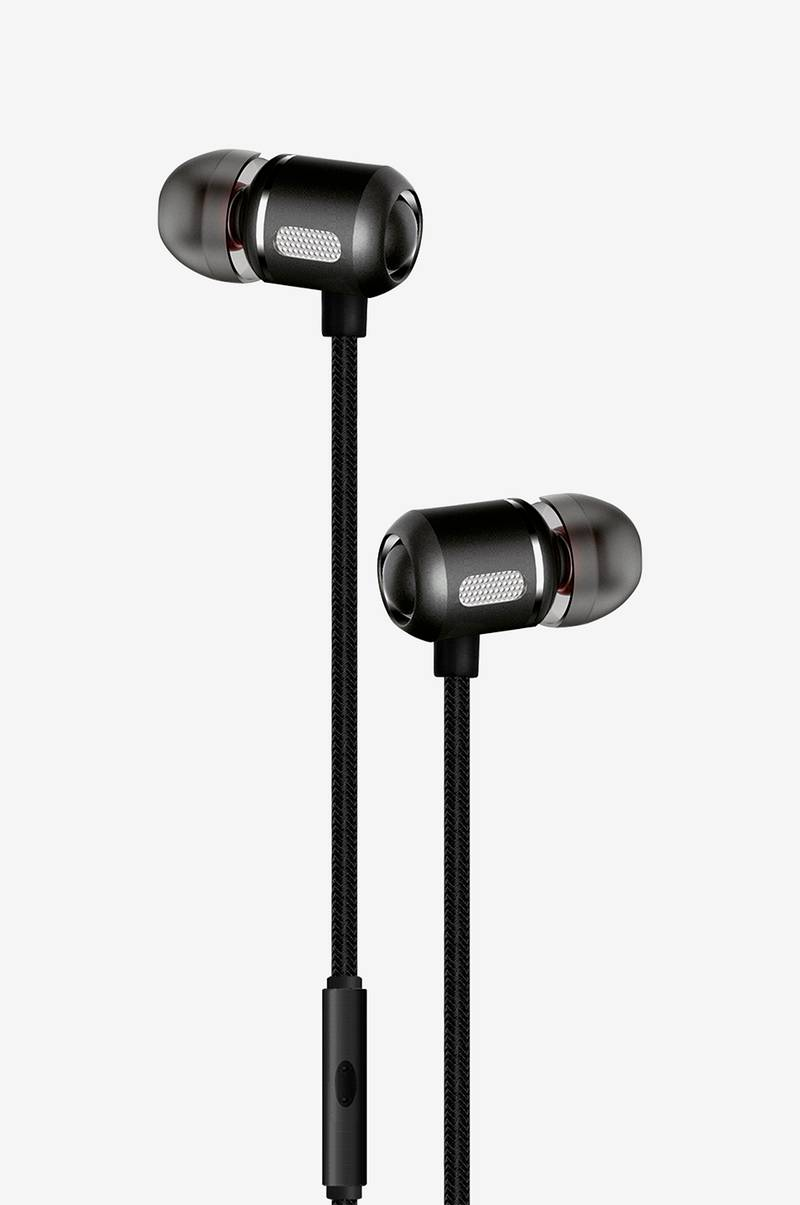 Headset In-Ear Svart Metallic