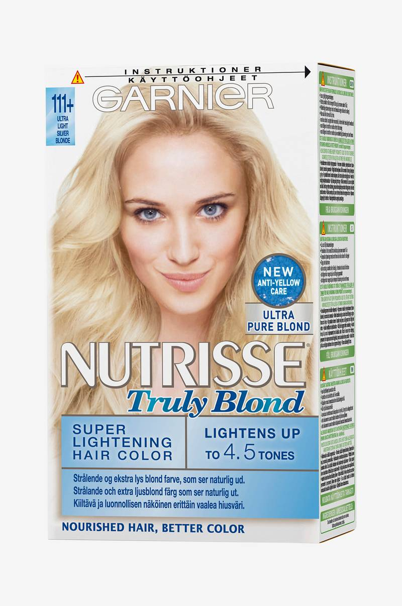 Nutrisse Truly Blond Ultra Light Silver Blonde 111+