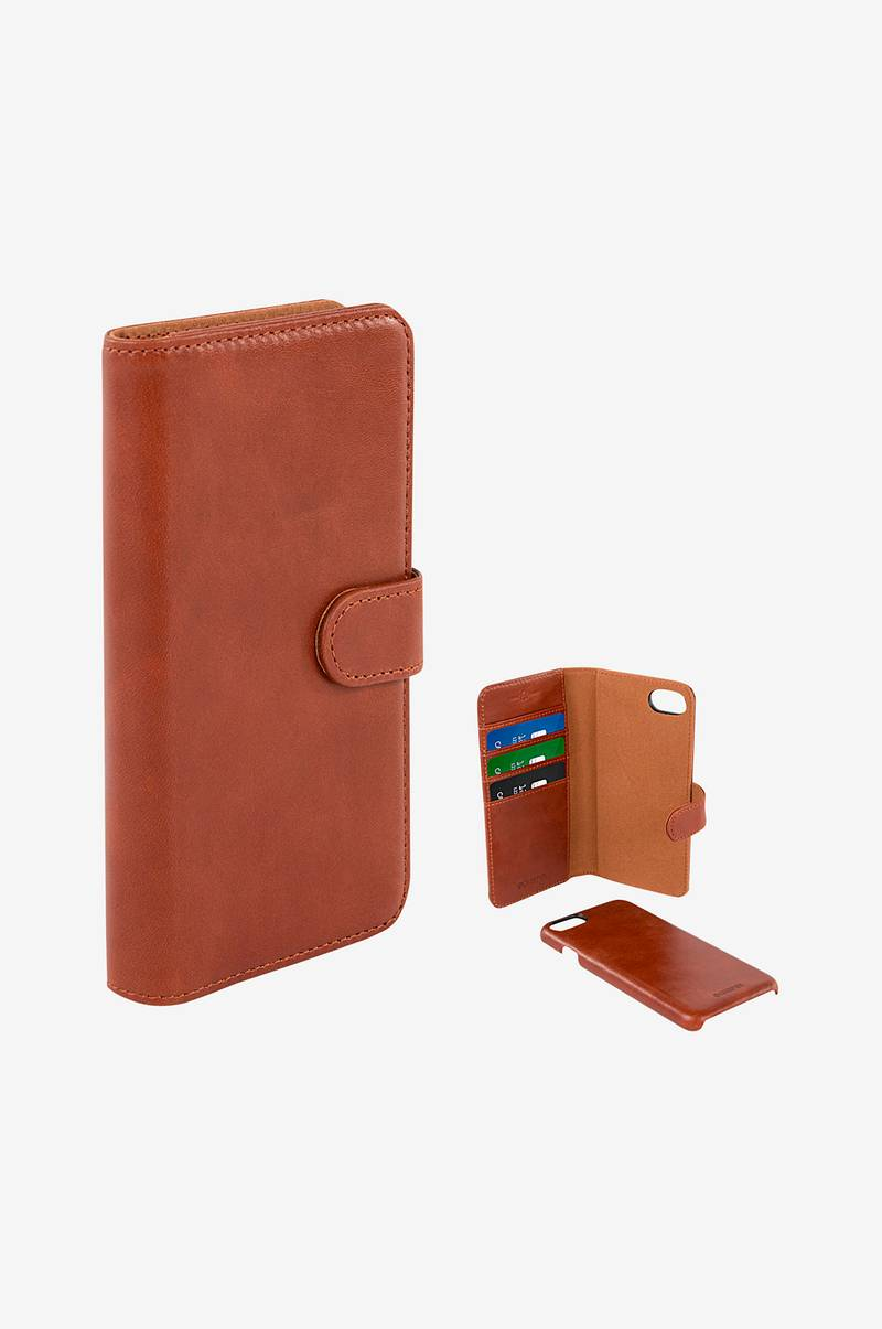 Wallet Case Brun iPhone 7