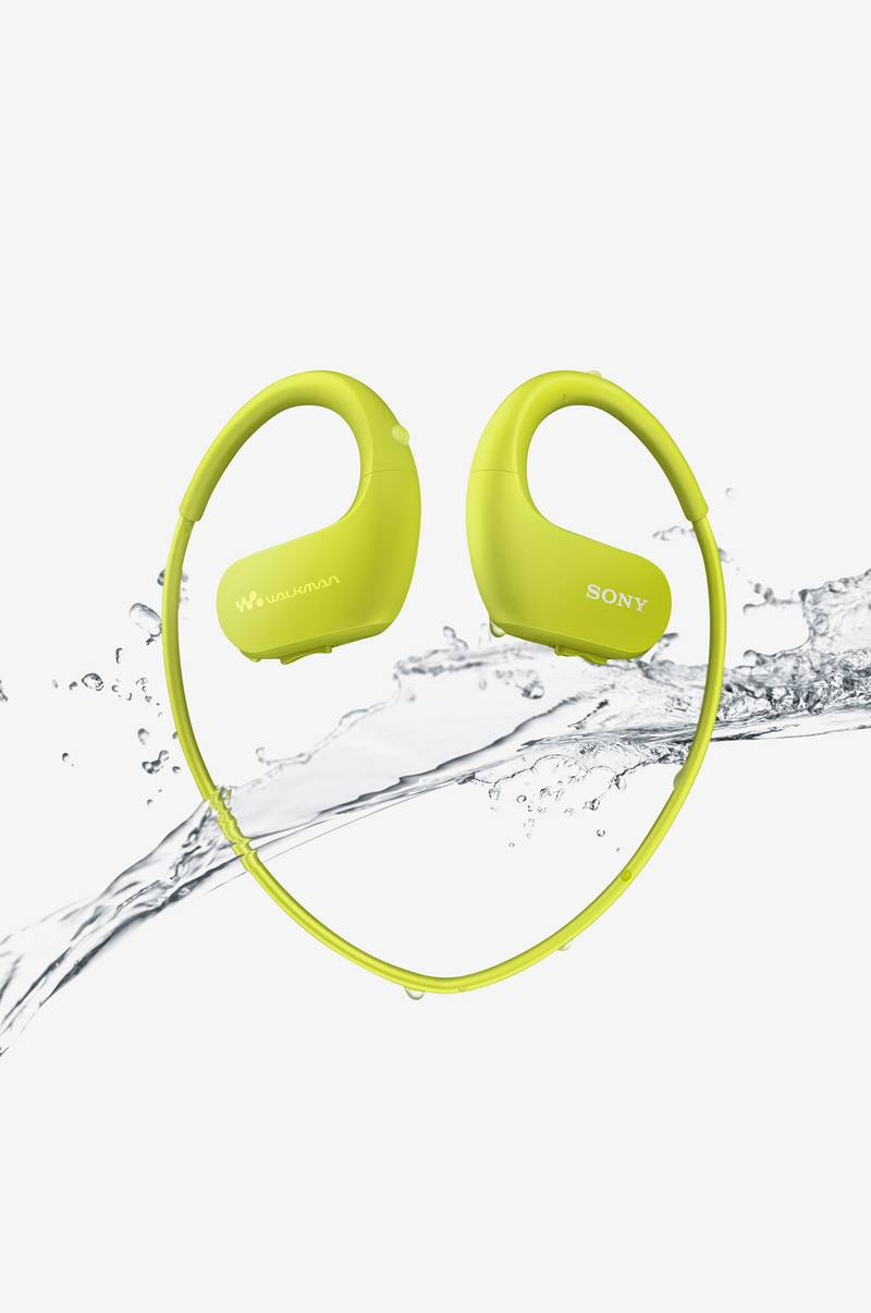 SPORT Walkman 4GB Yellow/Lime NWWS413G.CEW