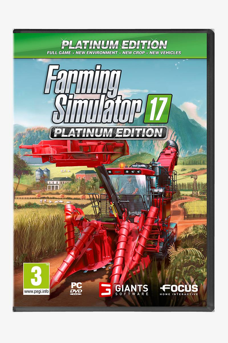 Farming Simulator 17 Platinum Edition peli PC