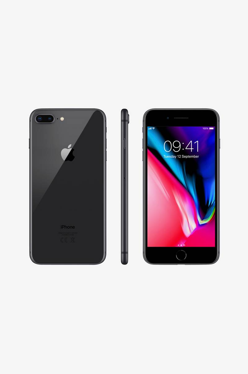 iPhone 8 Pluss 64 GB Space Gray
