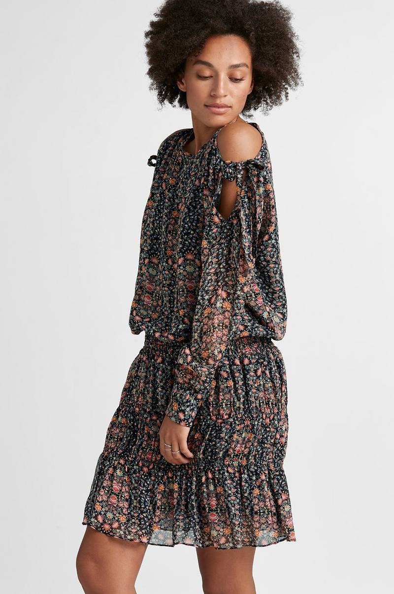 Klänning Floral Tie Dress