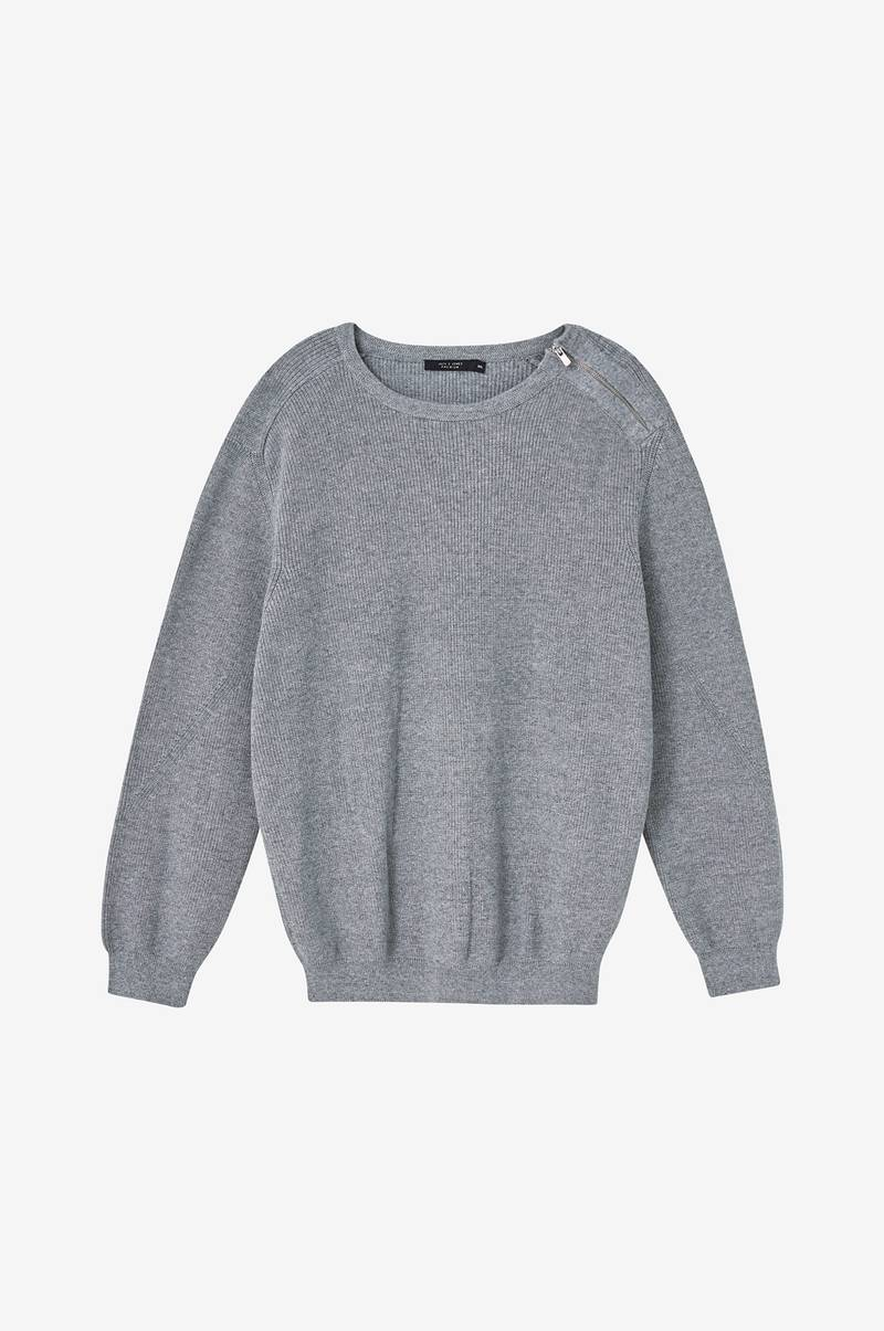 Genser jprSolo Knit Crew Neck PS