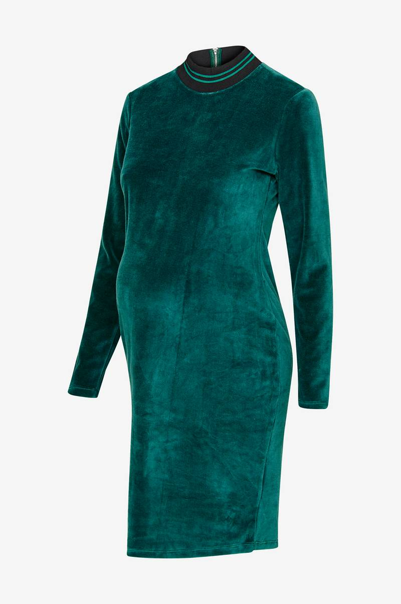 Gravidklänning Is Velvet Dress