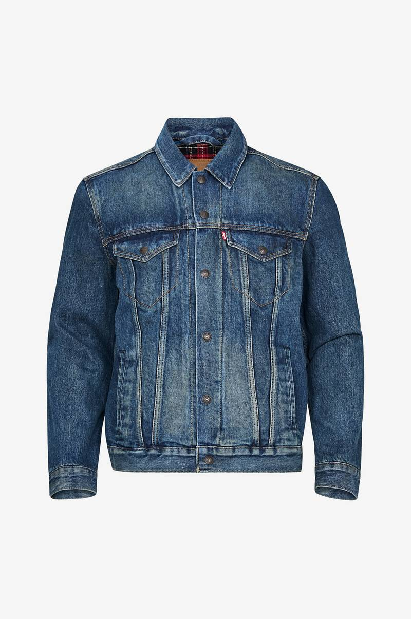 Denimjakke Lined Trucker Jacket