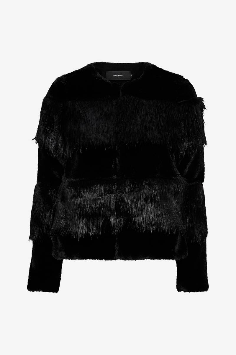 VmJazz Short Faux Fur Jacket tekoturkistakki