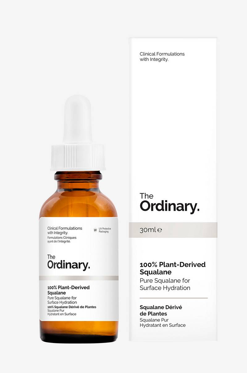 100% Plant Derived Squalane 30ml