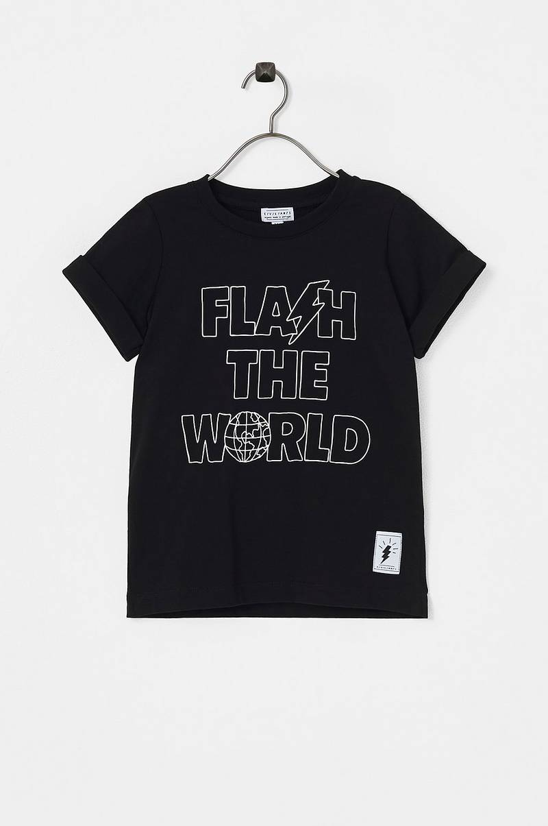 T-shirt Flash The World Tee