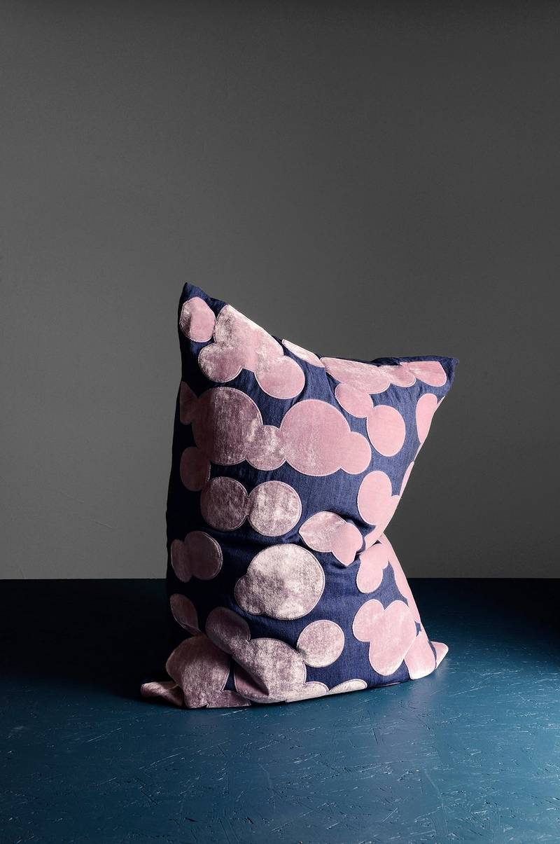 Bubbles cushion 60x80 cm