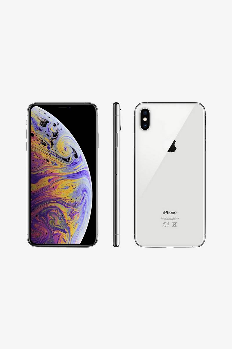 iPhone XS Max 512GB Silver MT572