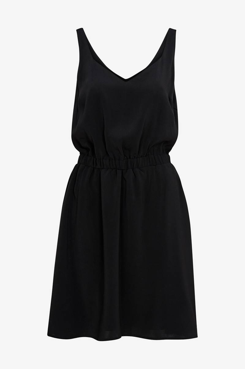 Kjole viLaia S/L V-neck Dress