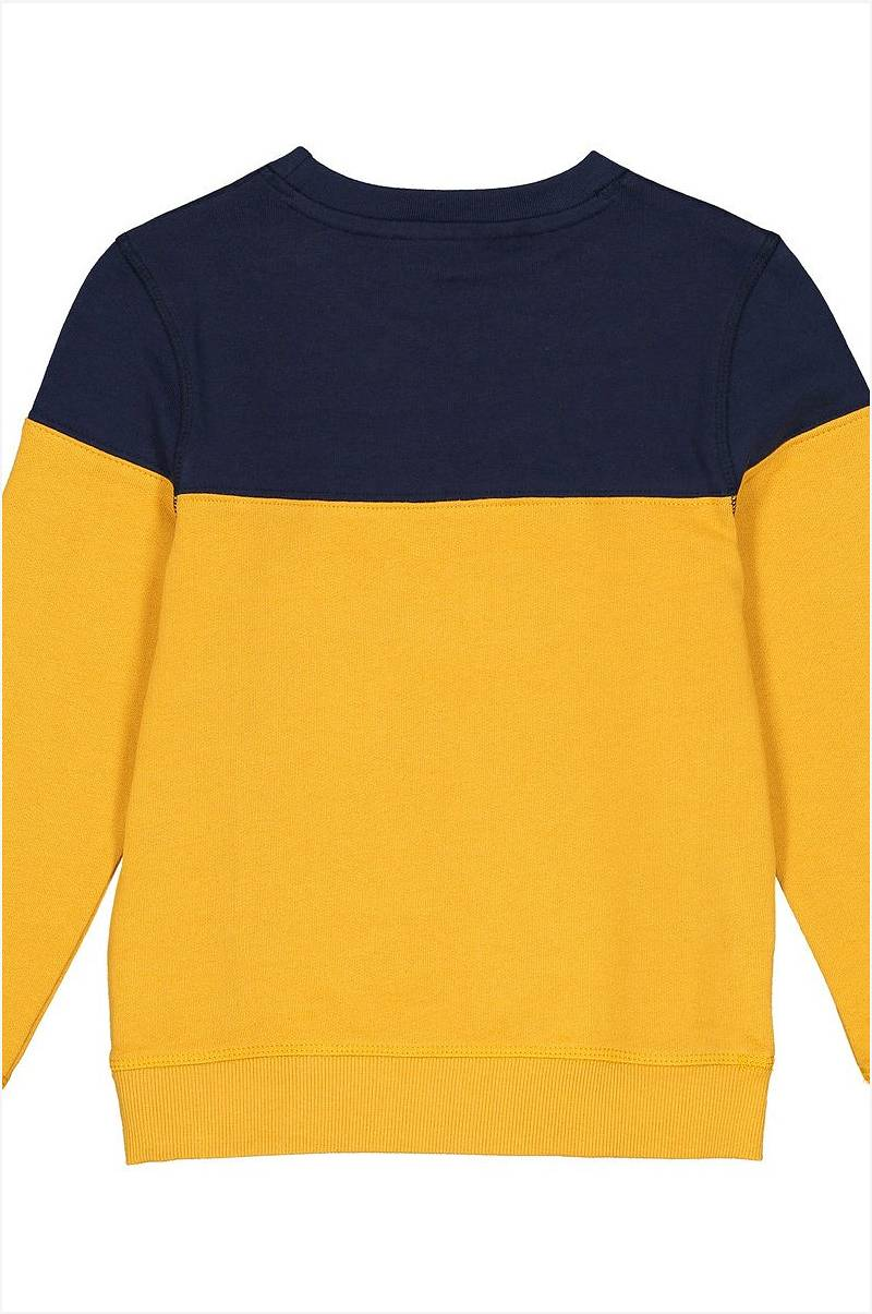 Sweatshirt i collegestil