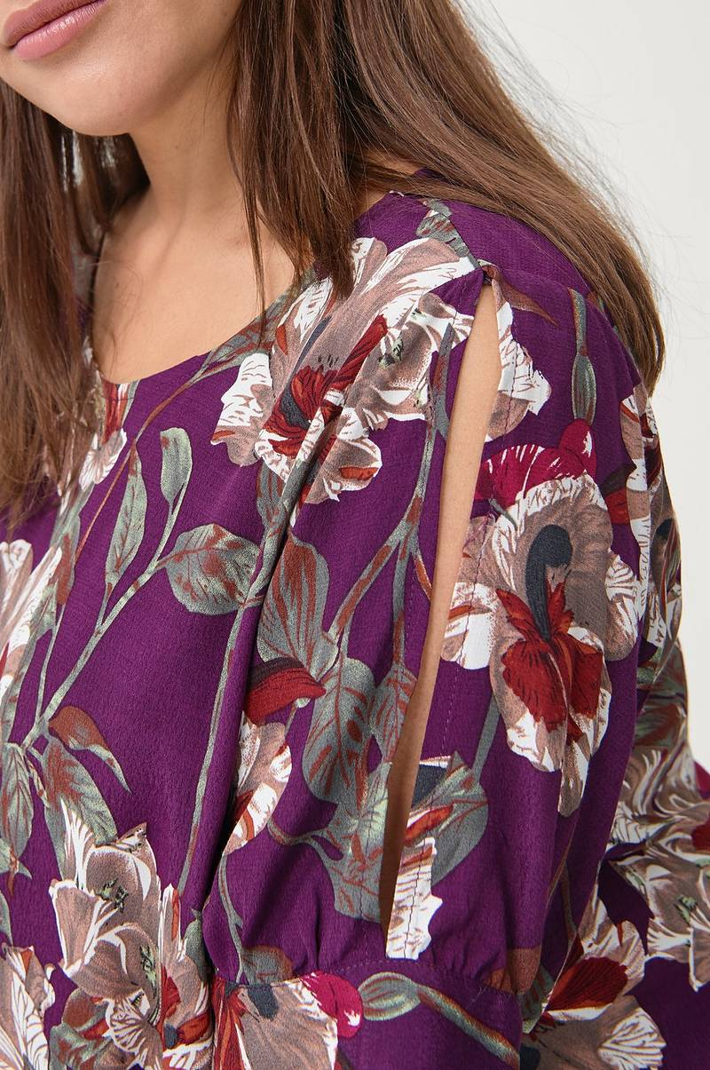 Bluse mFlock Bow S/S Blouse