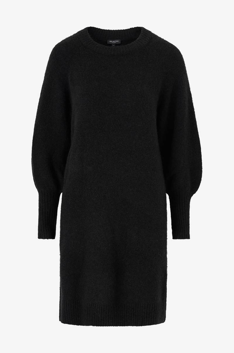 Kjole slfKylie LS Knit Dress