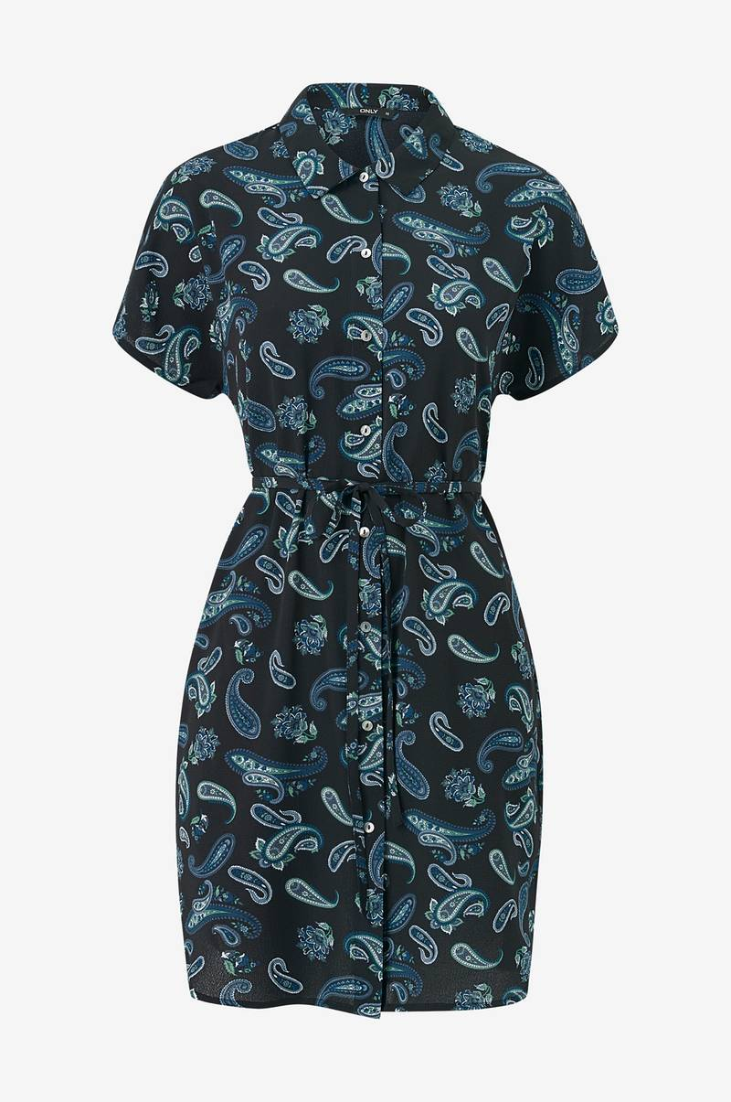 Skjortklänning onlNova Lux S/S Shirt Dress
