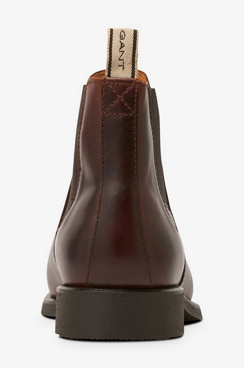 Boots James Chelsea Leather