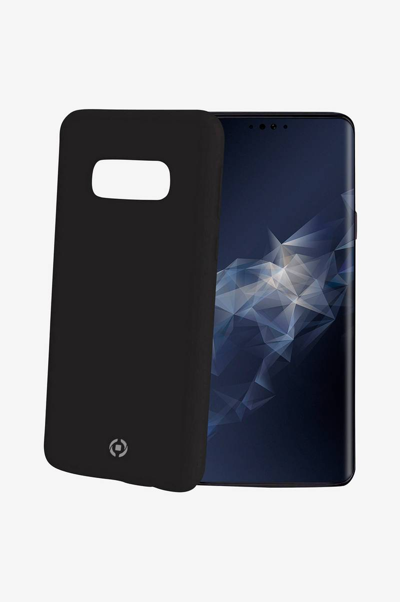 Soft-touch cover Galaxy S10 Musta